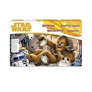 STAR WARS Hasbro Gaming Operation Game Chewbacca Edition Juego de construcción