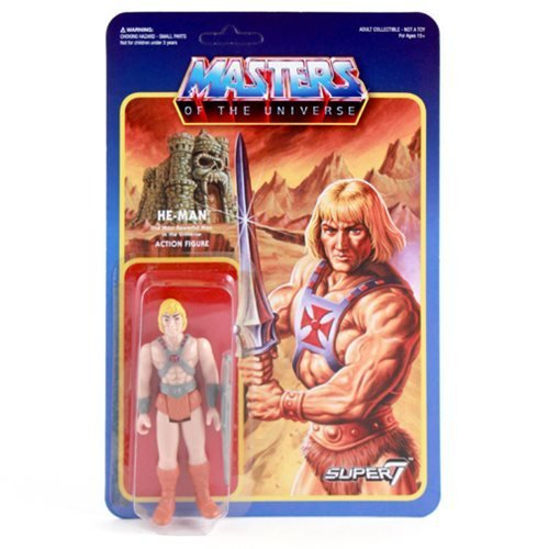 MASTERS OF THE UNIVERSE Adult Collectible Actionfigur HE-MAN: The Most Powerful Man in the (Jahre 80er Charaktere)