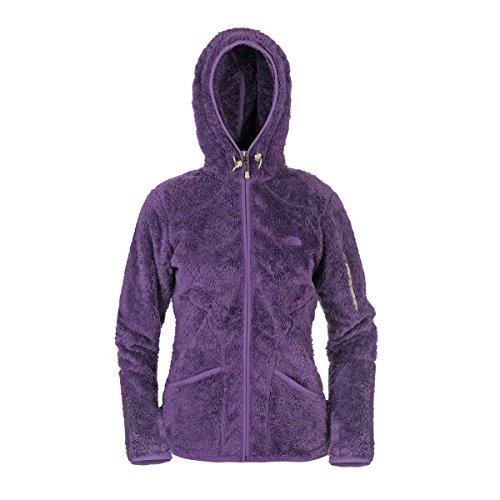 The North Face - Damen Cervinja Full Zip Hoodie, Farbe Gravity Purple, Größe DS (Full Sherpa Zip Hoodie)