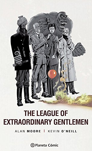 The League of Extraordinary Gentlemen 2 por Alan Moore, Kevin O'Neill