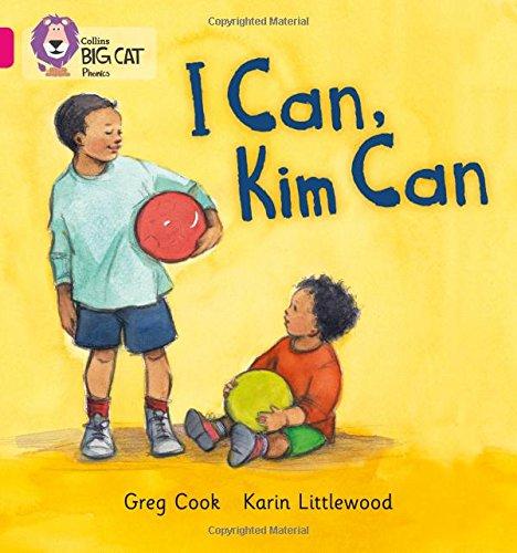 I CAN, KIM CAN: Band 01B/Pink B (Collins Big Cat Phonics)