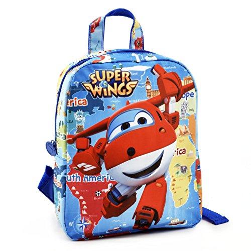 Super Wings Jett Sac à Dos pour Enfants, 27cm, Multicolore