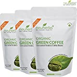 Neuherbs Green Coffee Beans For Weight Management & Belly Fat Burner 225g (Pack Of 3)