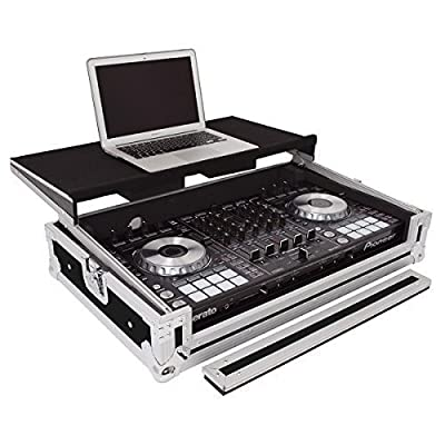 Gorilla Cases Pioneer DDJ-SX/SX2 DJ Controller Flight Case With Laptop Shelf inc Lifetime Warranty