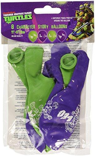 cm Teenage Mutant Ninja Turtles stellige Story Luftballons Helium Qualität (Ninja Dress Up)
