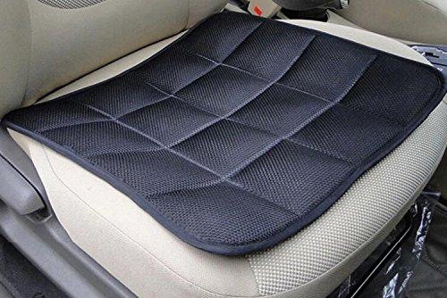 A-Express Schwarz Atmungsaktiv Bambus Faser Bambuskohle Auto Bürostuhl Sitzkissen Sitzmatte