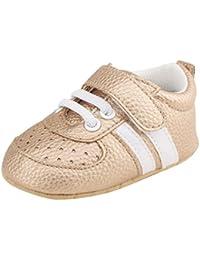 Logobeing Zapatos Bebe Niña Recién Nacidos Primeros Pasos Calzado Deportivo de Cuero Antideslizante Suave Zapatillas Deportivas para…