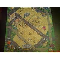 Playmat World Airport Mat  plus 20 diecast cars set