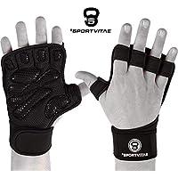 Sportvitae Calleras Crossfit Weightlifting Gym Gloves Guantes de Gimnasio Ventilados