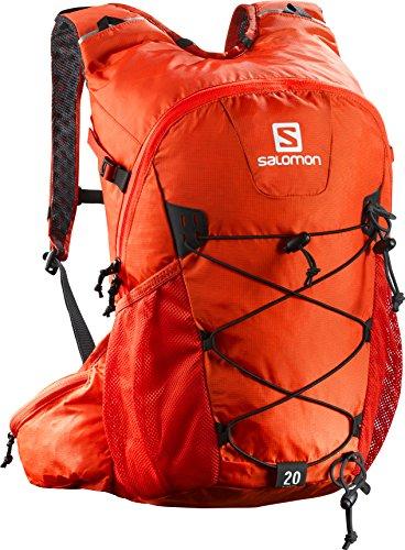 Imagen de salomon evasion 20   20 l, correa para el pecho ajustable, portador de bastones, 45x35x25 cm, naranja alternativa