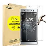 Sony Xperia XA2 Ultra 3D Plein Protecteur d'écran Verre Trempé, AOLANDER ANTI RAYURES - SANS BULLES D'AIR Film Protection en écran Dureté 9H Glass Screen Protector pour Sony Xperia XA2 Ultra