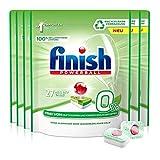 Finish 0% Spülmaschinentabs, brillante Reinigung ohne Duft- Und Konservierungsstoffe, Gigapack, 162 Tabs (6 x 27...