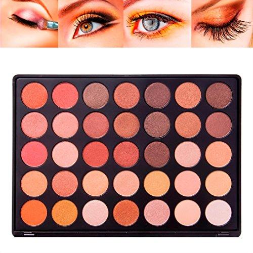 LHWY 35 Colores Renacimiento Sombra De Ojos Maquillaje CosméTico Brillo Paleta Mate Sombra De Ojos