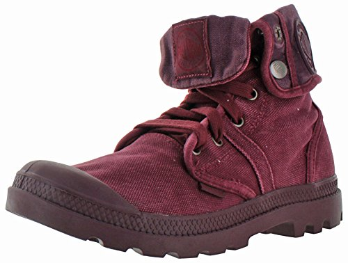 PalladiumPallabrouse Baggy - Stivali Desert Boots uomo , (Cabrnt/Vney/Red Wine), 47
