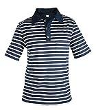 modAS Herren Poloshirt maritim, Größe:XXL, Farbe:blau/weiß