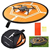 """Drone Landing Pad DJI, Taotree Helipad for RC Drones Helicopter DJI Mavic Pro and RC Phantom 2/3/4/4 Pro, 32"""" (80cm) (Drones Not Included) (Landing Pad)"""