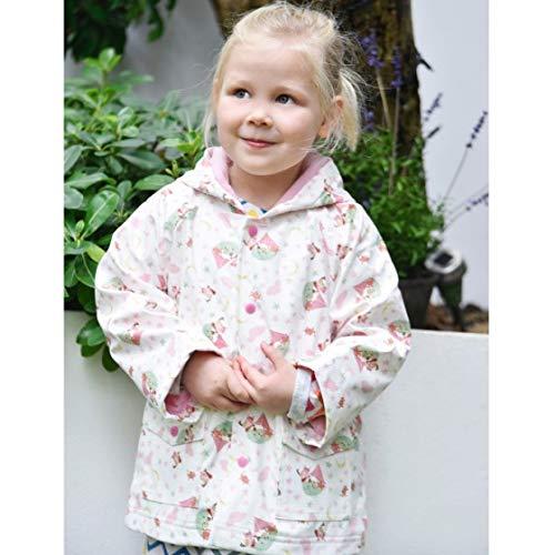 Powell Craft Cappellino Margherite Daisy Print Baby Bonnet 0-12 Mesi