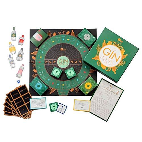 The Gin Lovers Game & Five Free Christmas Fortune Cookies