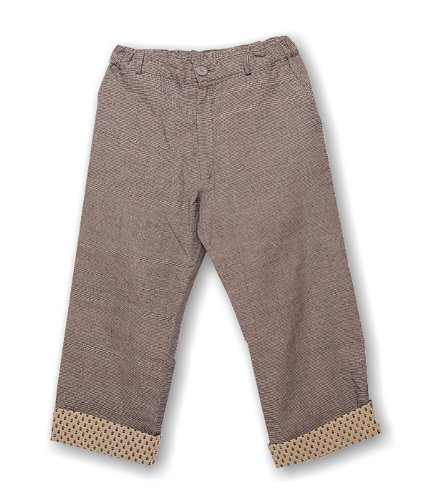 bouton-kids-miko-pantaloni-per-ragazze-e-ragazzi-black-small-checks-8