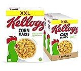 Kellogg's Corn Flakes, 3er Pack (3 x 1 kg)