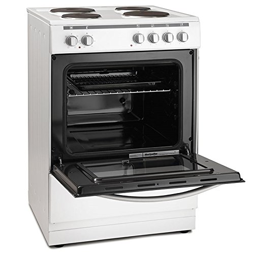 51HO bk0oDL. SS500  - Montpellier MSE60W 60cm Single Cavity Electric Solid Plate Cooker in White