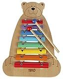 Tidlo T0050 - Xilófono con diseño de oso
