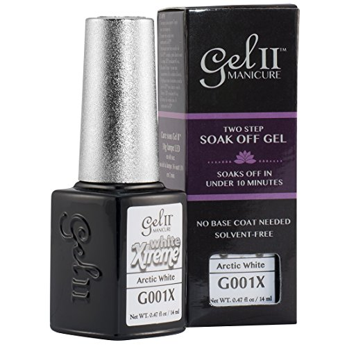 Gel II Soak-Off Gel Polish, Arctic White, 0.47 Ounce by Gel II