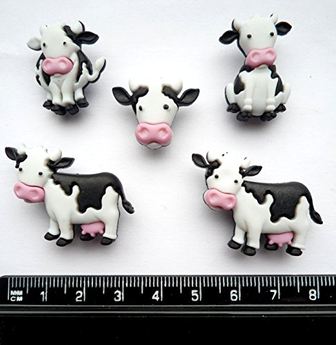 MOOOVE IT - Novelty Craft Buttons & Embellishments by Dress It Up