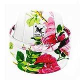 YUMSUM Cappellini da baseball per animali da compagnia Cappello da sport del sole Cappello di visiera del tessuto di Oxford con i buchi dell'orecchio per i piccoli cani(M, Fiore)
