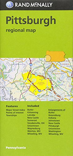 Rand Mcnally Pittsburgh Regional Map