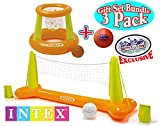 Intex Floating Pool Volleyball Game & Fl...