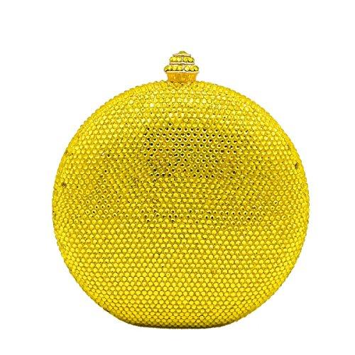 Europäische FZHLY Und Diamond Clutch Amerikanische Yellow Abendtasche Hot wwPadrq1