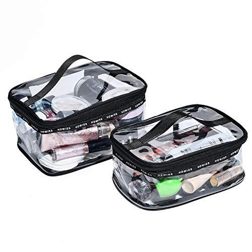 BeeViuc Conjunto 2 piezas Neceseres Maquillaje PVC