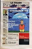 FIGARO PATRIMOINE (LE) [No 18866] du 01/04/2005 - L'AVIS DE - FRANCOIS DROUIN - LES TAUX DES CREDITS IMMOBILIERS POURRAIENT REMONTER APRES L'ETE - A SUIVRE - COMPTES REMUNERES - LES PREMIERES OFFRES - BOURSE - UN MARCHE DE NOUVEAU HESITANT LES VALEURS CYCLIQUES DE RETOUR - LES VALEURS DU MOIS - SUEZ ET VEOLIA - LE ROLE DECISIF DES FONDS D'INVESTISSEMENT - OPCVM - EMBELLIE ATTENDUE SUR LES FONDS BIOTECHS - FONDS INDICIELS COTES CHERCHENT INVESTISSEURS ACTIFS - LES MEILLEURS OPCVM PAR CATEGORIE