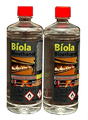 2L PREMIUM BIOETHANOL FUEL FREE DELIVERY. Buy 4L (£29.90) & get 2L FREE