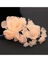 khskx-the novia joyas paño blanco flor de tocado accesorios para el pelo boda Photo Studio modelado coreano hembra all-match capitatum Sen, G