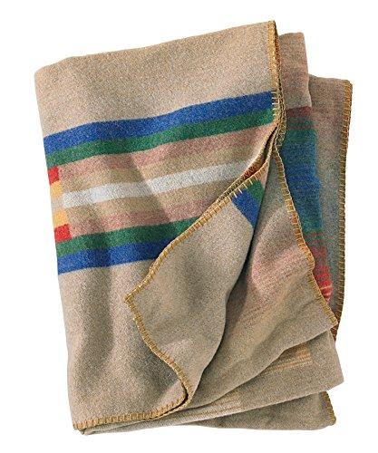 Woolrich Home Morning Star Decke, Hellbraun Woolrich Throw