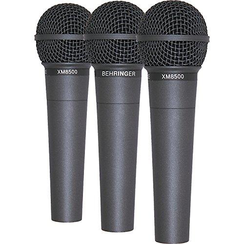 Confezione da 3-Behringer ULTRAVOICE XM8500microfono vocale con custodia/Clip