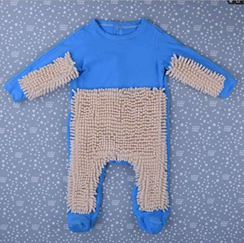 Herr Kostüm Mops - CHRRI Baby Romper, Kinder-MOP Jumpsuit Baumwollmantel Junge Mädchen Krabbeln Kostüm,G,73Cm
