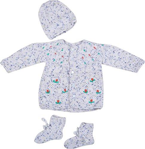 Kuchipoo Baby Wool Sweater (KUC-MNC-620_3_Blue Multi-Coloured_0-9 Months)