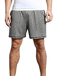 wenyujh Homme Short Sport Séchage Rapide Ete Cordon de Serrage Pantalons  Court Fitness Tennis Gym Jogging 4f465dcaeeb