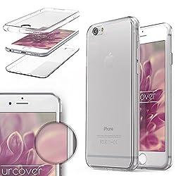 Urcover Kompatibel mit Apple iPhone 6 / 6s Handyhülle von Original TPU Ultra Slim 360 Grad Edition iPhone 6 / 6s Schutzhülle Case Cover Etui Klar [Deutscher FACHHANDEL]