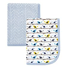 Hudson Baby Swaddle Couvertures Lot de 2
