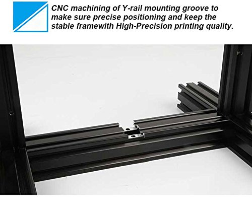 Comgrow Creality 3D Printer Ender-3X with Tempered Glass Plate 220 * 220 * 250 - 8