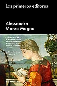 Los primeros editores par  Alessandro Marzo Magno