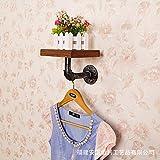 HHY-American Style/Jahrgang/Massivholz Bügeleisen/schalbrett Wand/creative Wasserleitung Regal / Regal (25 * 20 cm)