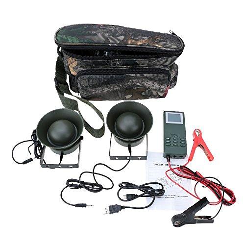 smartera® Outdoor Jagd Köder Vogel Anrufer MP3Bird Sound mit 2versiegelt Design Lautsprecher 50W Verstärker 150dB mit Camouflage Tragetasche (Mp3 Köder)