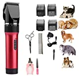 Best Professional Clippers Pet - [2018 New Version] Dog Clippers Cat Shaver, Professional Review
