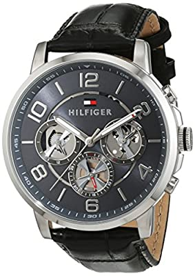 Tommy Hilfiger sofisticado Reloj De Pulsera de hombre, analógico de cuarzo y piel 1791289