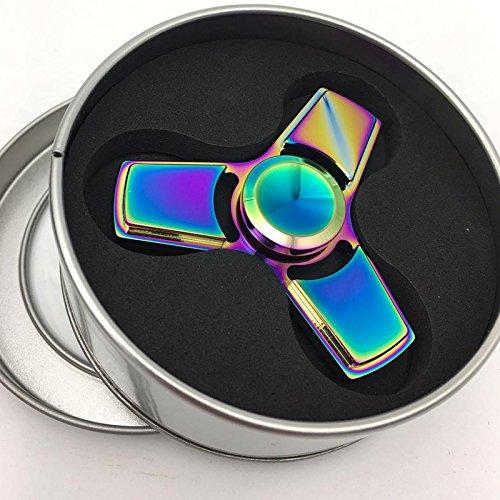 Preisvergleich Produktbild Airsson Hand Fidget Spinner EDC Focus Stress Reducer Spielzeug mit Keramik Lager für Erwachsene und Kind (Mehrfarbig)